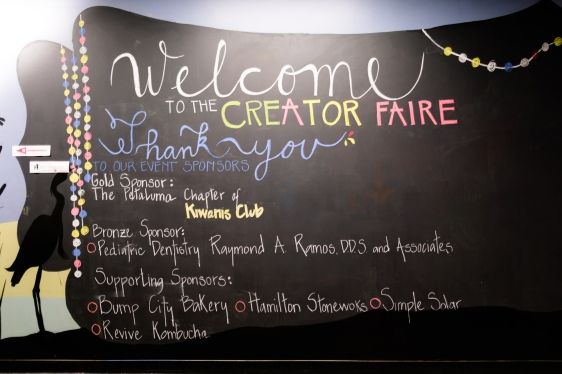 Thank you Creator Faire Sponsors