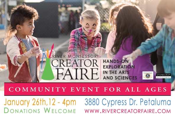 Creator Faire, January 26th, 2019